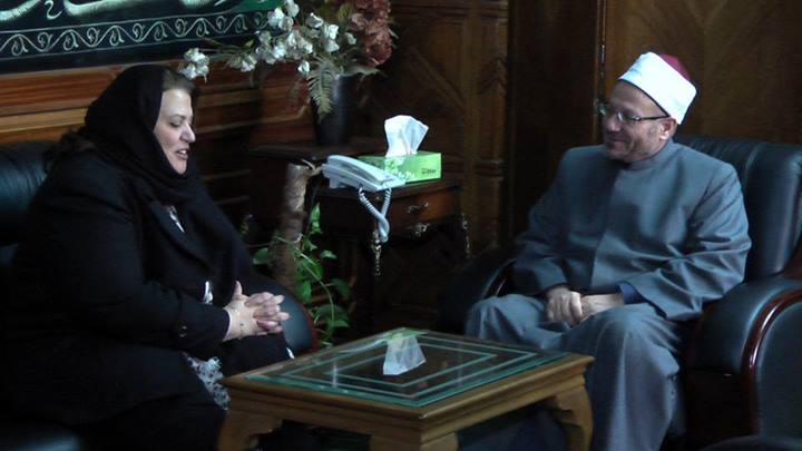 Egypt's Mufti: Al-Azhar is keen to spread love and resist atheism