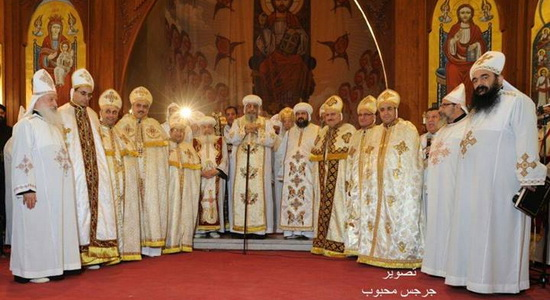 Pope Tawadros ordains new priests