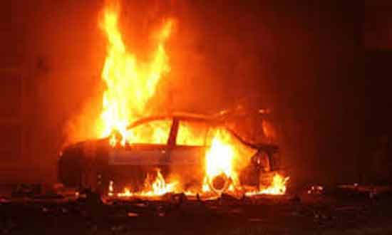 MB members burn car of Coptic man in Delga