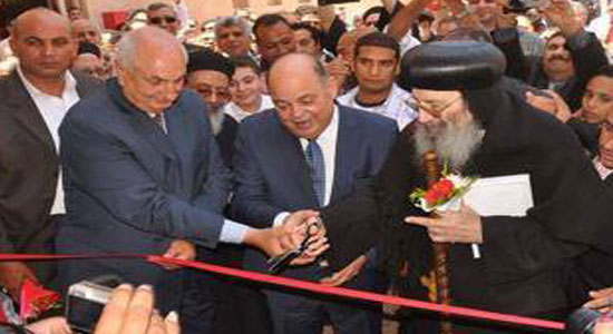 Abba Bishoy and Culture Minister inaugurate St. Mary Church in Sakha