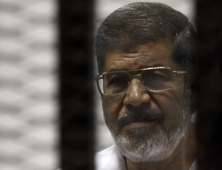 Ousted president Mursi describes election as charade - Facebook page