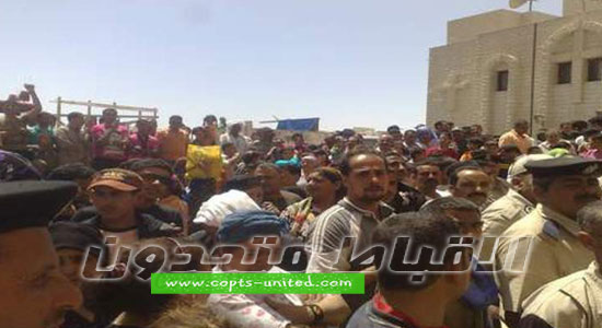 Clashes between Muslims and Copts at St. Mary monastery, Samalout