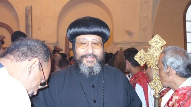 Bishop Jeremiah congratulates Copts on Pentecost