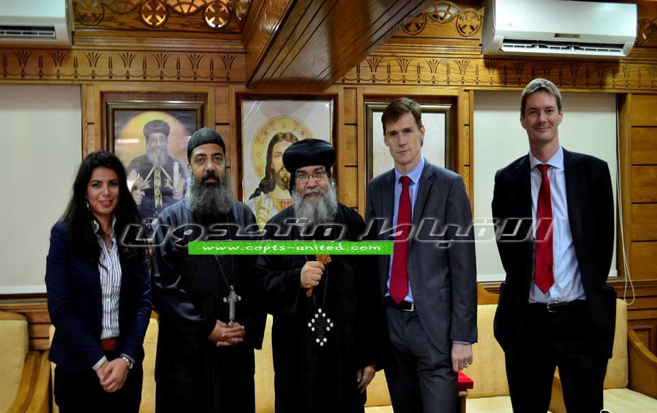British ambassador visits the Coptic Church in Minya