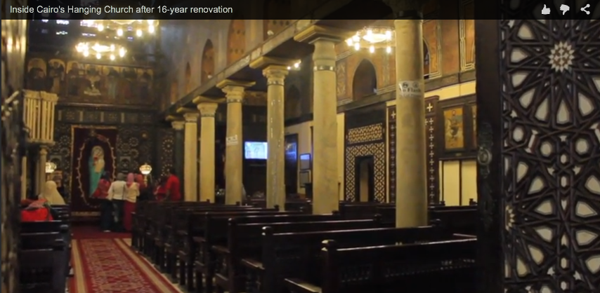 Inside Cairo's Hanging Church after 16-year renovation