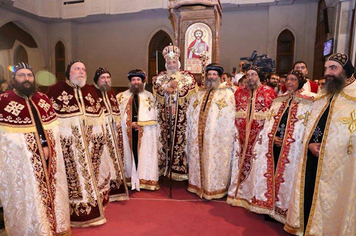 Pope Tawadros ordained new Bishops