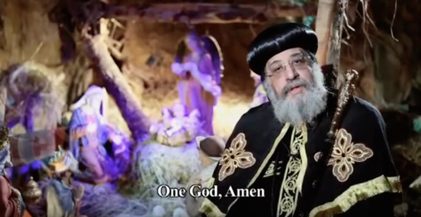 Pope Tawadros II congratulates Christians for celebrating nativity