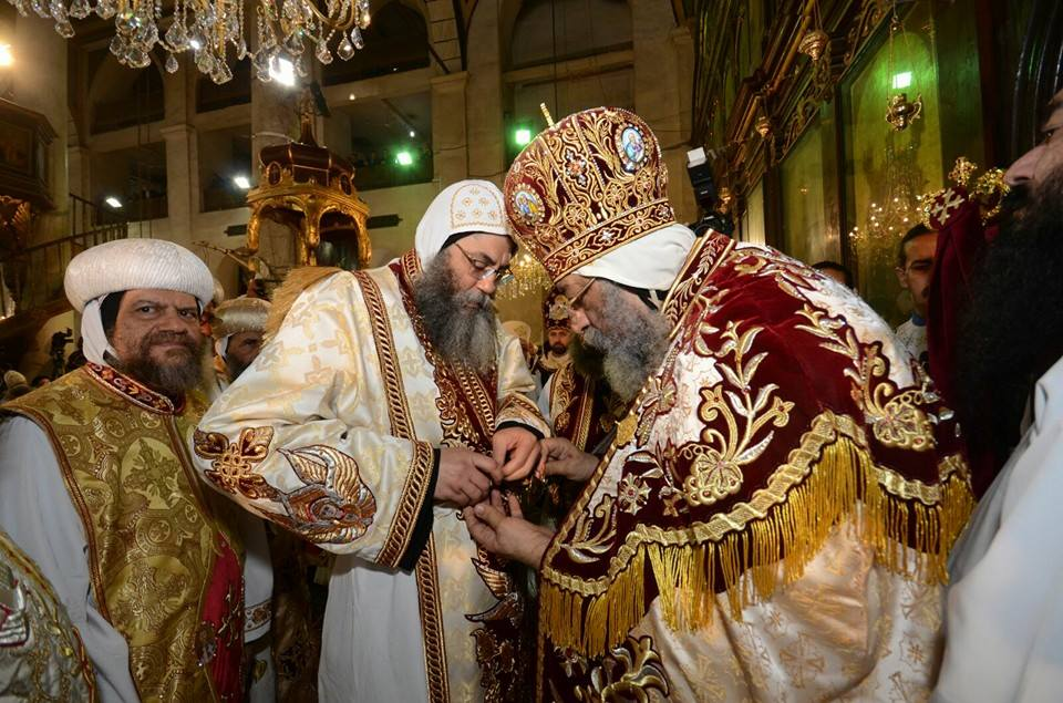 Egypt's Pope Tawadros II appoints new archbishop of Jerusalem