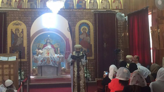 Port Said Bishop ordains a new monk in Australia