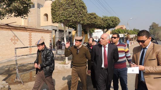 Head of Minya security visits churches to check on security measures