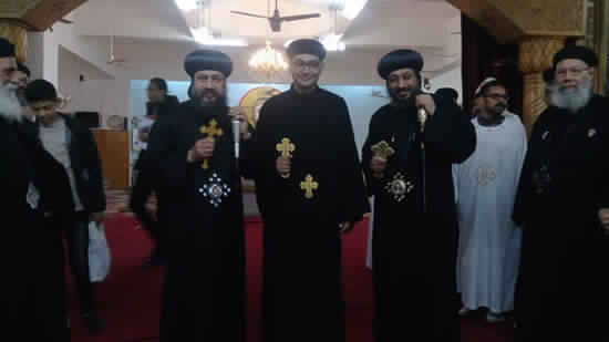 A new priest ordained in Suez