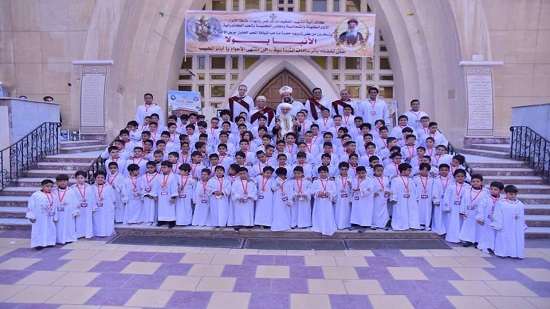 113 new deacons ordained at St. George Church in Tanta