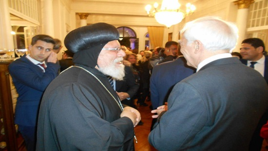Bishop Aklimandes Participates in National Day of Greece