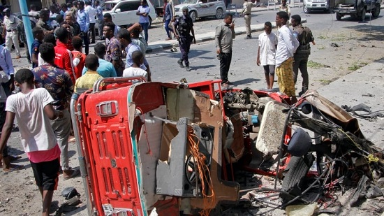 15 killed as Somalia bomb hits restaurant at lunchtim