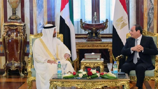 President Sisi, Abu Dhabi crown prince call for greater cooperation against interference during Egypt talks