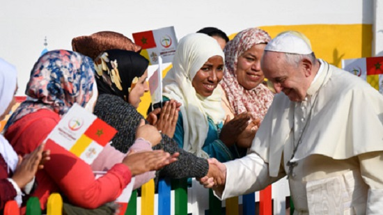 Pope to hold mass for Moroccos Catholic minority