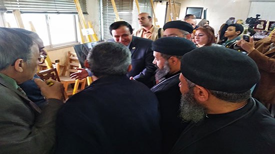 Sharqia governorate holds the first exhibition of Coptic art