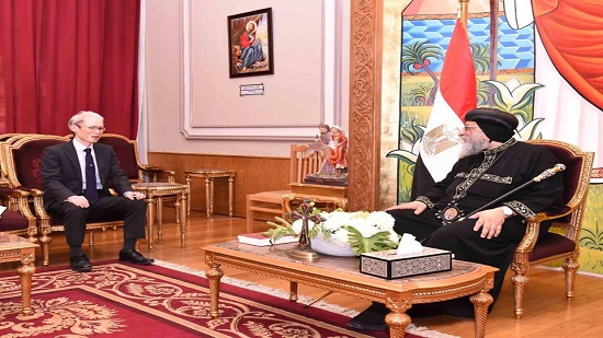 Pope Tawadros receives Japanese Ambassador