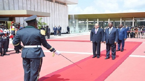 Egypts Sisi signs MoUs with Ivorian leader in first ever visit by Egyptian president to Abidjan