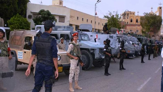 Police take extra security measures to secure Coptic feasts