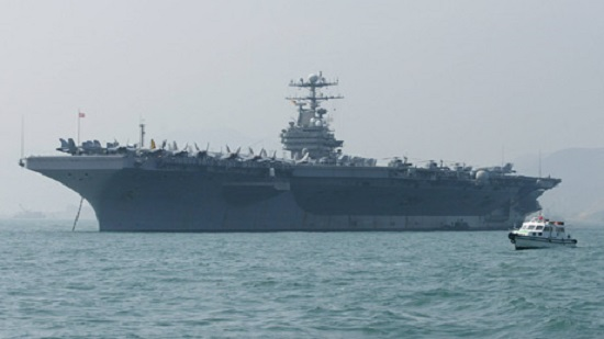 US sends naval strike group to Middle East in message to Iran