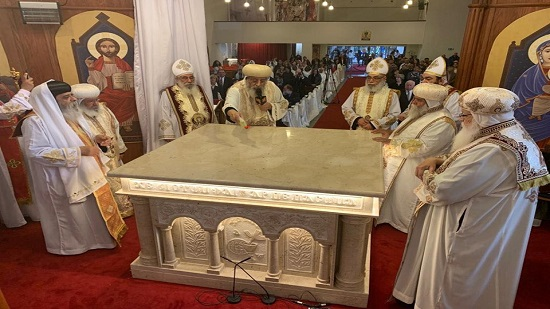 Pope Tawadros inaugurates the Church of the Virgin in Dusseldorf, Germany