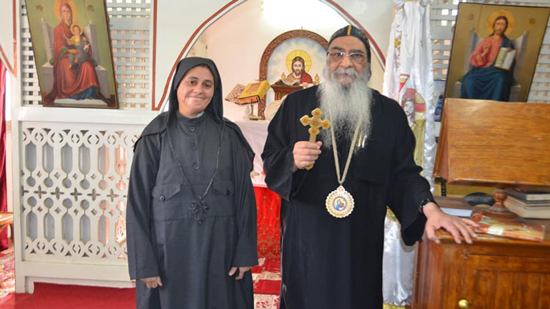 Bishop of Fayoum ordains new consecrated nun