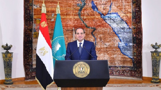 On Africa Day, Egypts Sisi calls on ِcontinent to maintain unity, fulfill founders dream of stability and prosperity