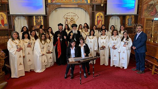 Choirs of Oriental Orthodox Churches performs in the Netherlands