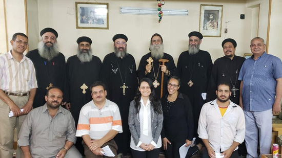 Team of 1000 Orthodox teachers meets with Bishop Beyman