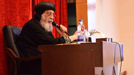 Pope Tawadros opens the conference of the service of the Coptic churches in Europe