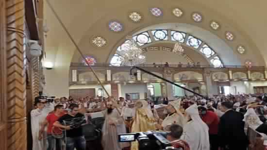 Pope inaugurates the Church of the Virgin in Sadat City