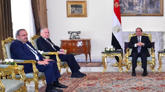 Egypts Sisi meets with president of World Jewish Congress