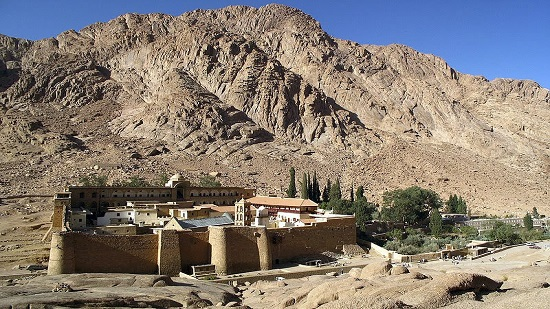 Egypt's antiquities ministry completes development works on monastery of Saint Catherine