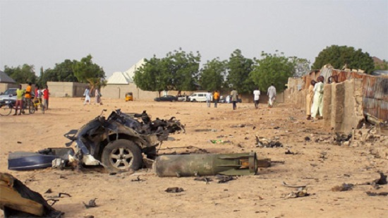 30 killed in triple suicide bombing in NE Nigeria