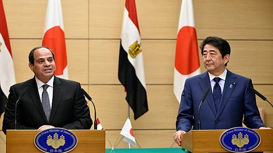 Sisi says Egypt can serve as gateway for Japanese industries into different markets