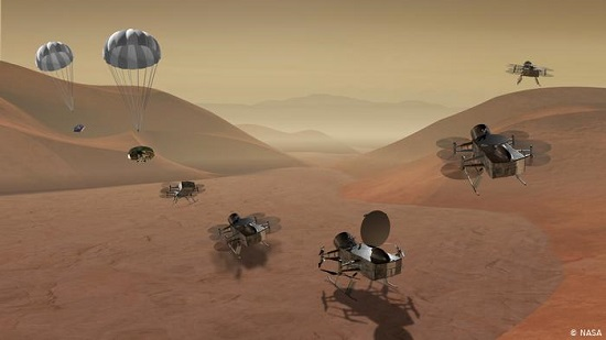 NASA plans drone mission to Titan, Saturns largest moon