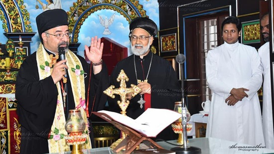 Abba Abraham Isaac attends St. Ivanius celebration in India