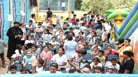 250 children attend Carnival in Sharqia diocese