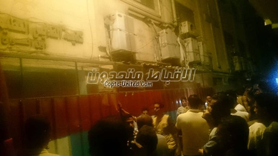 Limited fire erupted at Church of St. Paula in Shubra al-Khaimah
