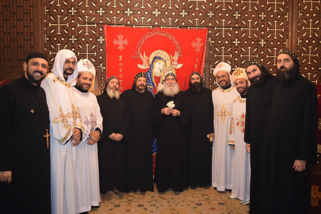 Bishop of Beni Suef celebrates Holy Mass with new Priests at Muharraq