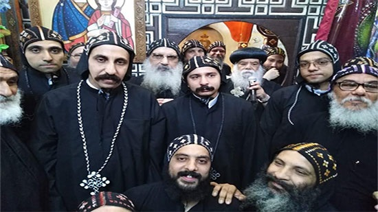 New monks ordained in St. Pachomious monastery in Luxor