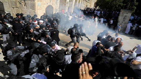 Palestinian official condemns Israeli storming of Jerusalem s Al-Aqsa Mosque on Islamic Eid Al-Adha