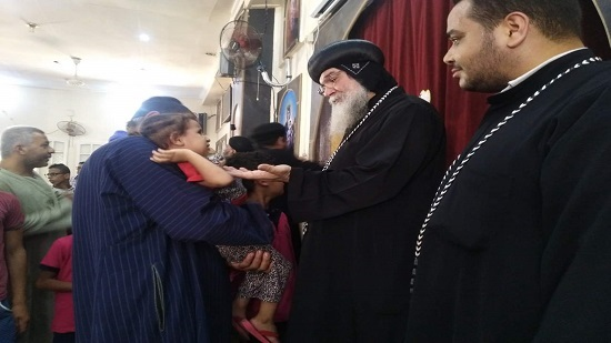 Minya diocese holds carnival of the Virgin in her church in Assem village