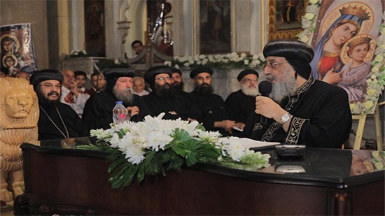 Pope denies the existence of division in the Holy Synod