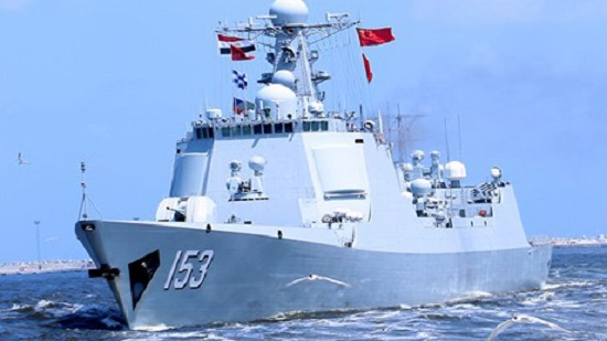 Egypt, China naval forces carry out joint military drills off Egypts Mediterranean