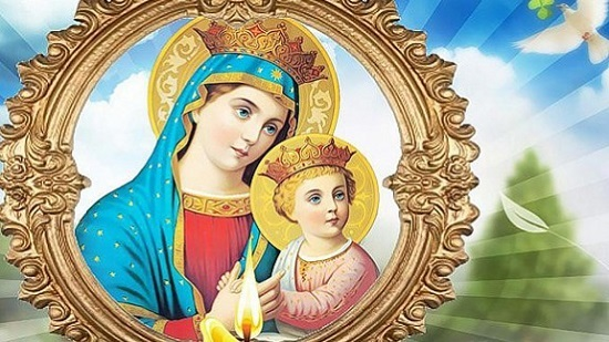 Coptic Church celebrates the monthly commemoration of the Virgin Mary