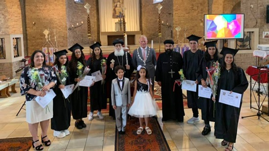 Bishop of the Netherlands honors excellent students of secondary school