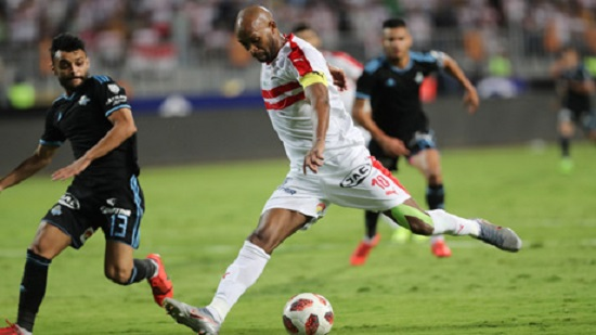 Bencharki s double gives Zamalek Egypt Cup title after 3-0 win over Pyramids