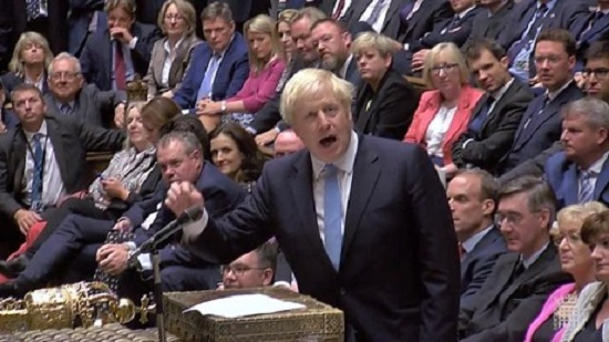 Boris Johnson tells parliament: You can tie my hands, but I will not delay Brexit